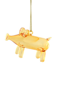 Balloon Pig Ornament