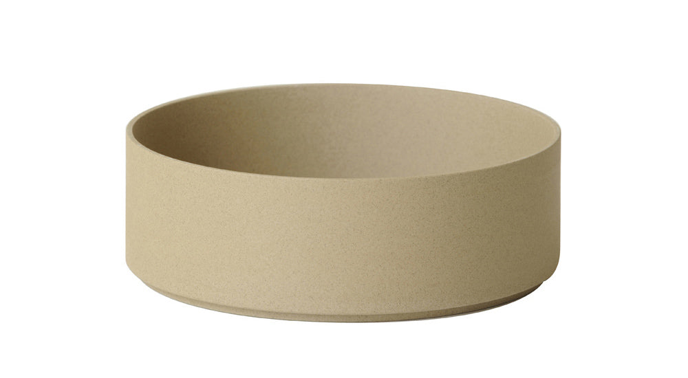 Hasami Porcelain Large Bowl - Tall, Natural - Acacia