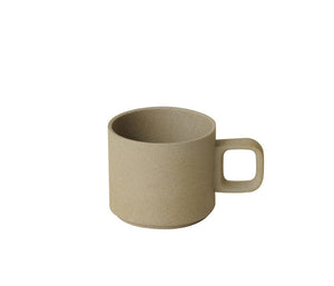 Hasami Porcelain 11 oz. Mug, Natural - Acacia