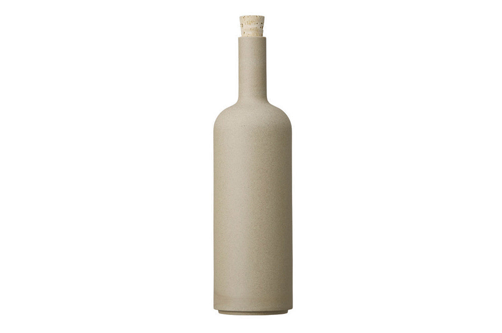 Hasami Porcelain Bottle, Natural