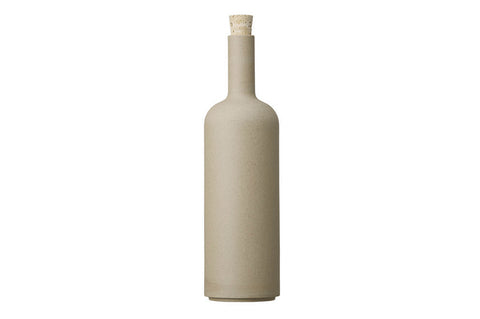 Hasami Porcelain Bottle, Natural - Acacia