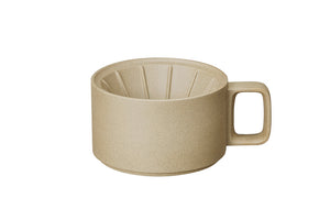 Hasami Porcelain Dripper, Natural