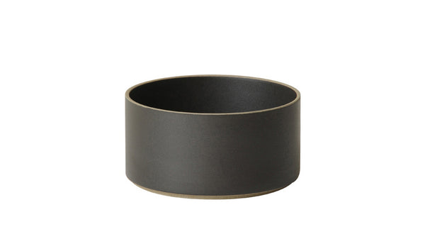 Hasami Porcelain Small Bowl - Tall, Black - Acacia