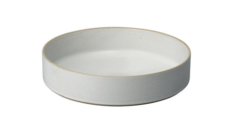 Hasami Porcelain Large Bowl, Gloss Grey - Acacia