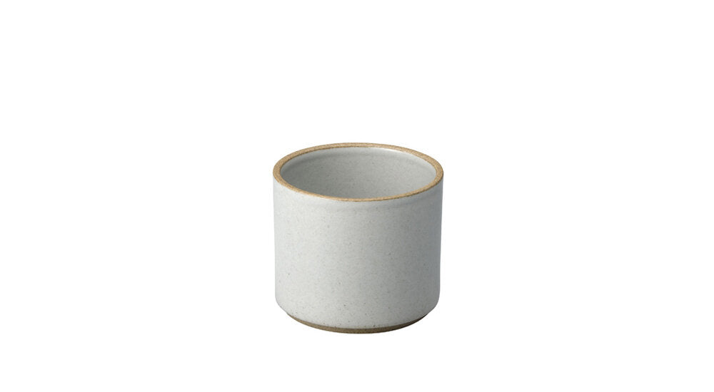 Hasami Porcelain Tea Cup, Gloss Grey - Acacia