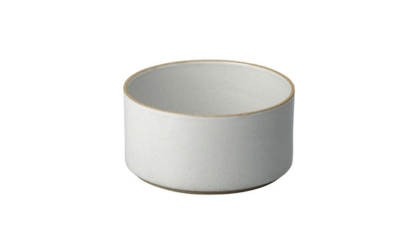 Hasami Porcelain Small Bowl - Tall, Gloss Grey - Acacia