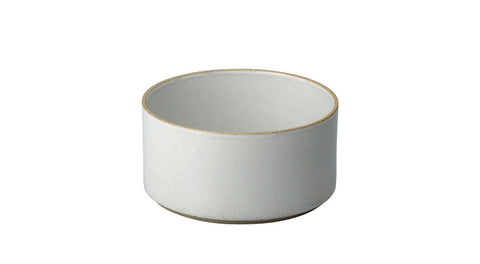 Hasami Porcelain Small Bowl - Tall, Gloss Grey