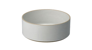 Hasami Porcelain Medium Bowl - Tall, Gloss Grey