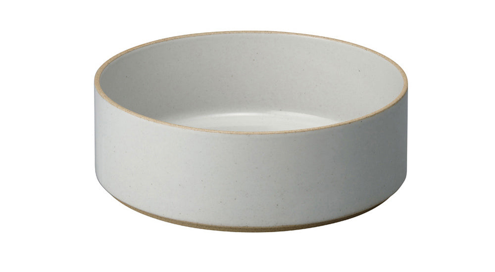 Hasami Porcelain Large Bowl - Tall, Gloss Grey