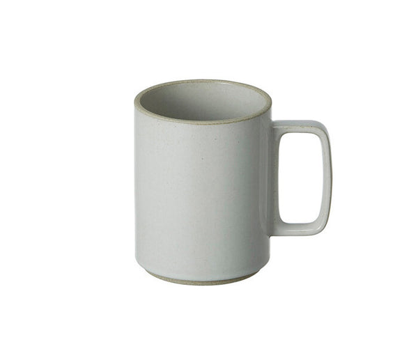 Hasami Porcelain 15 oz. Mug, Gloss Grey