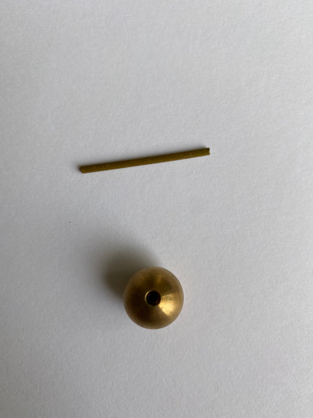 Brass Ball Incense Holder, Two Sizes
