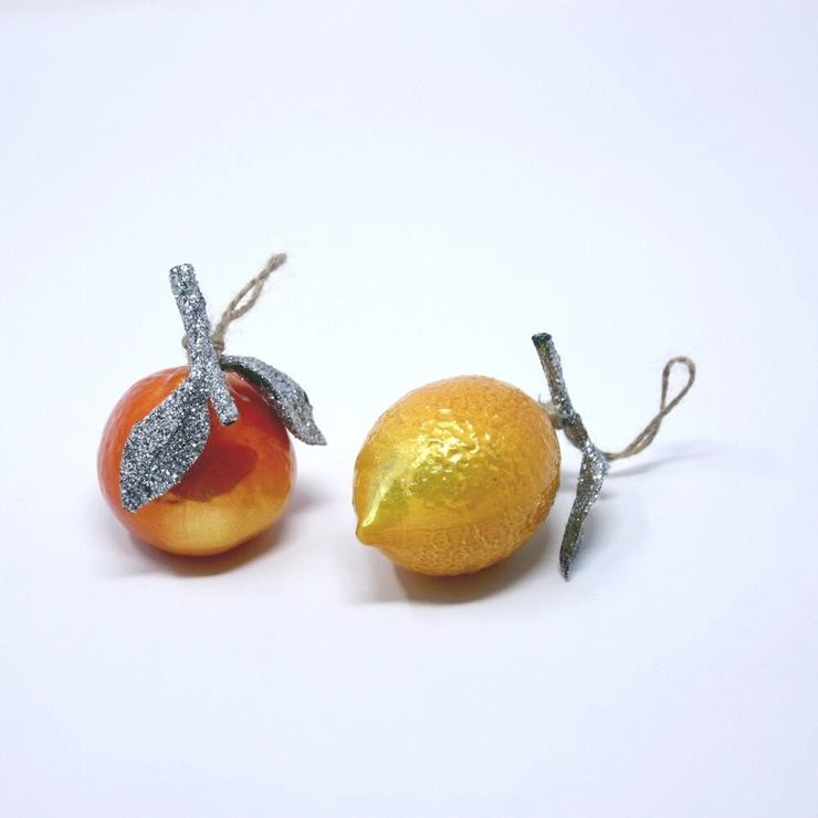 Citrus Fruit Ornaments