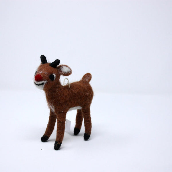 Rudolph the Red-Nosed Reindeer Ornaments - Acacia