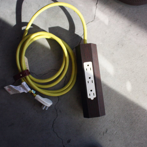 Niko Power Strip and Extension Cord - Acacia