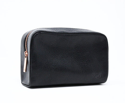 Black Leather Case - Acacia