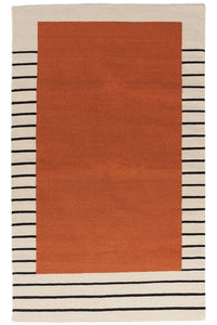 Suzanne Rust Flat Weave Rug - Acacia