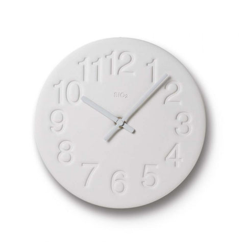 Earth Clock, Light Grey - Acacia