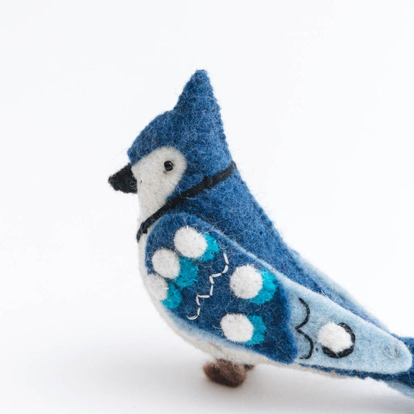 Craftspring Winter Blue Jay