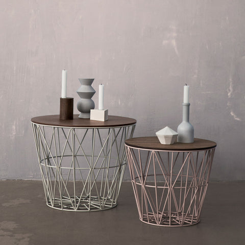 Ferm Living Wire Basket Collection - Acacia