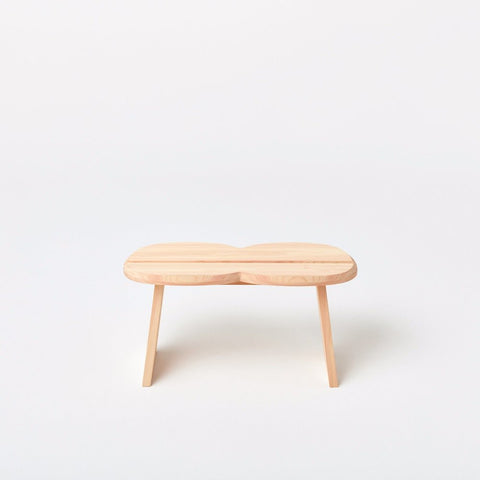 Hinoki Stool, Double - Acacia