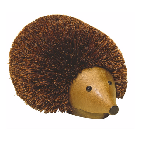 Hedgehog Shoe Cleaner - Acacia