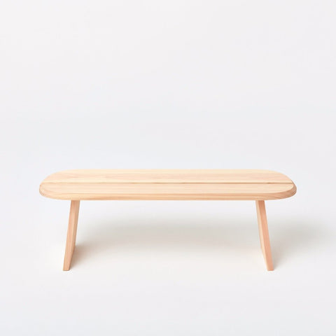 Hinoki Stool, Long - Acacia