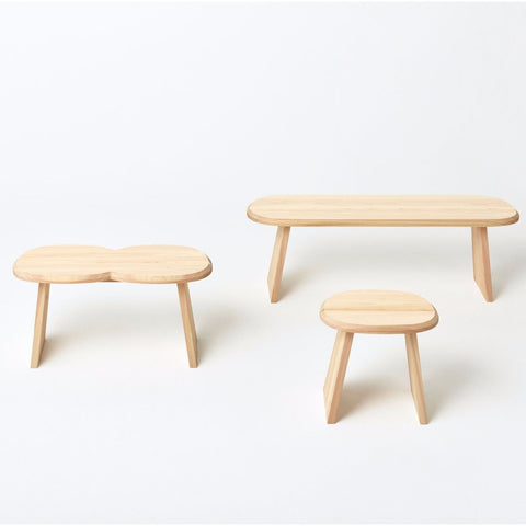 Hinoki Stool, Single - Acacia