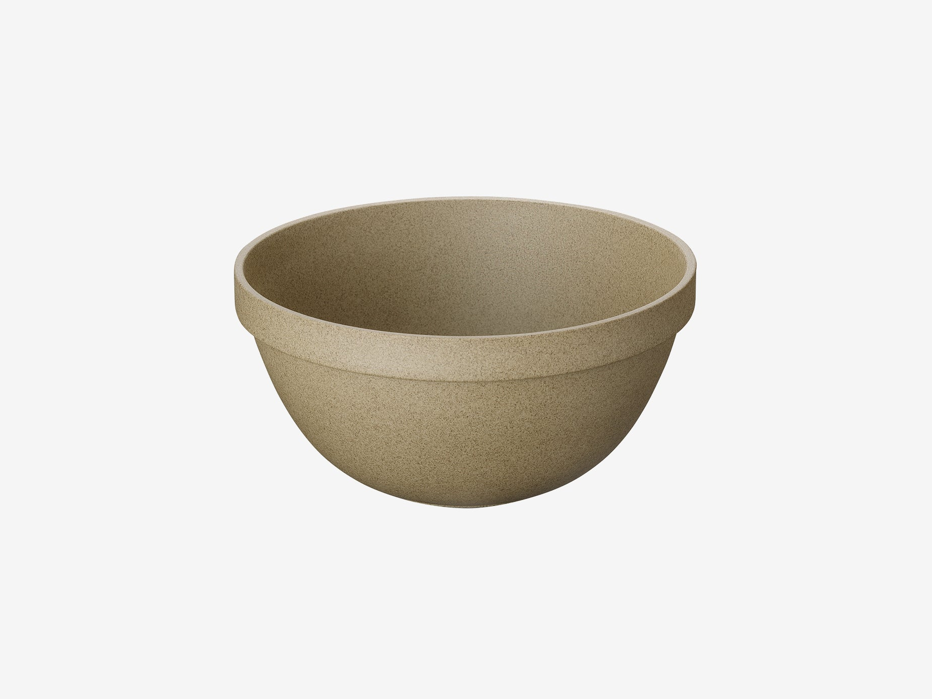 Hasami Porcelain Deep Round Bowl - Large, Natural