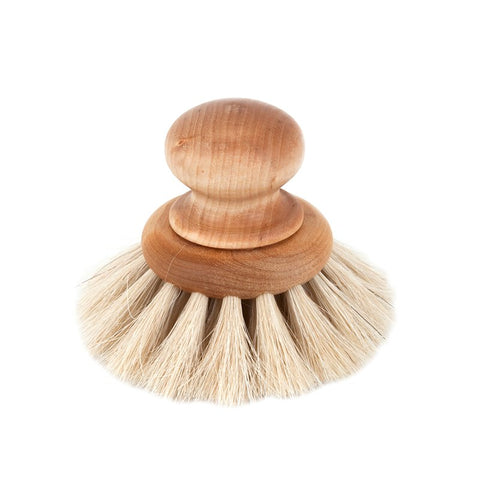 Round Dish Brush - Acacia