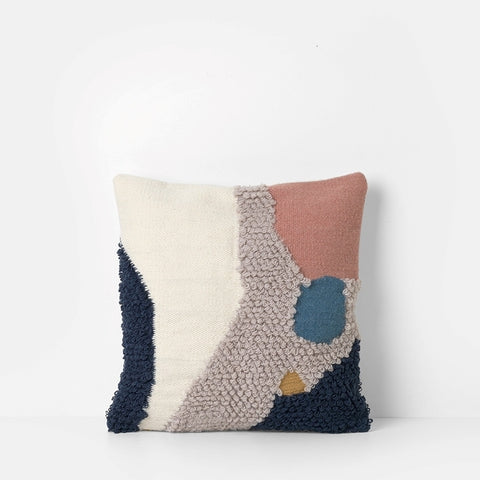 Landscape Loop Cushion - Acacia