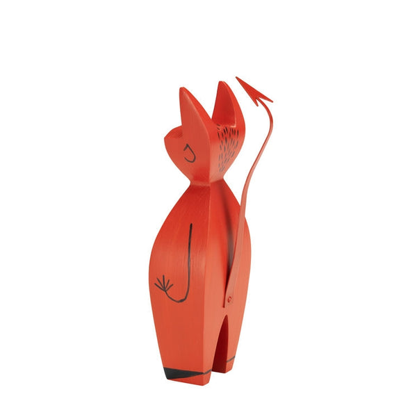 Girard Wooden Doll, Little Devil - Acacia
