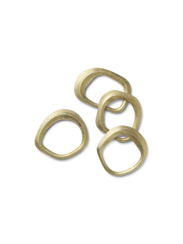 Flow Napkin Rings - Acacia