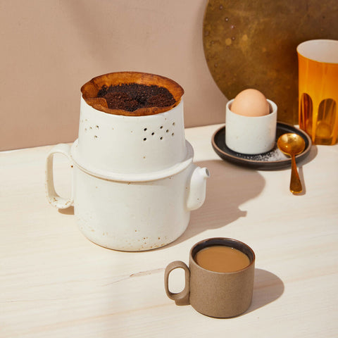 Ozu Ceramic Tea and Coffee Collection, White - Acacia