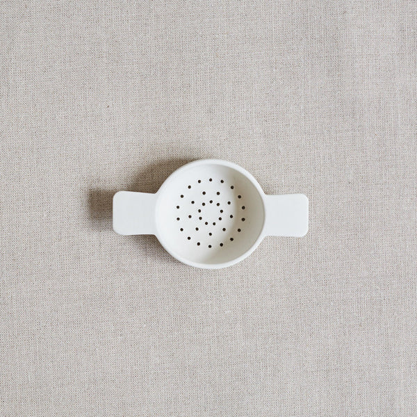 Sue Pryke Ceramic Tea Strainer - Acacia