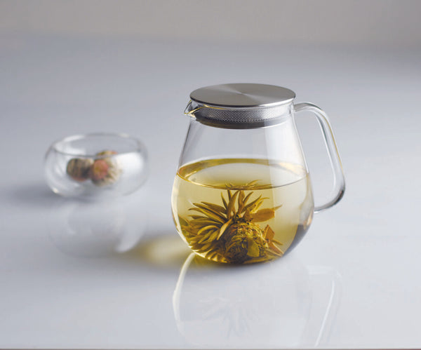 Glass Teapot - Acacia