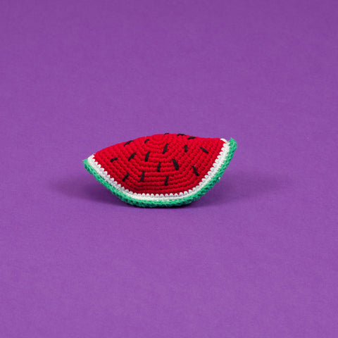 Hand-crocheted Watermelon Slice - Acacia