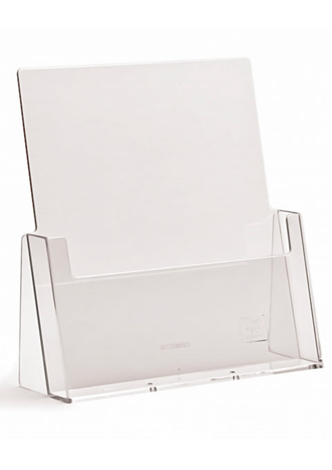 Pamphlet Holders - Free Standing (Clear Acrylic)