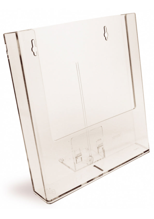 Pamphlet Holders - Wall Mounted (Clear Acrylic)