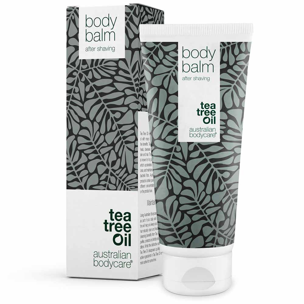 Australian Bodycare Body Balm - Pflegende Aftershave Lotion gegen Hautreizungen nach der Rasur