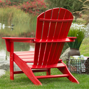 Adirondack Red Heavy Duty Chair