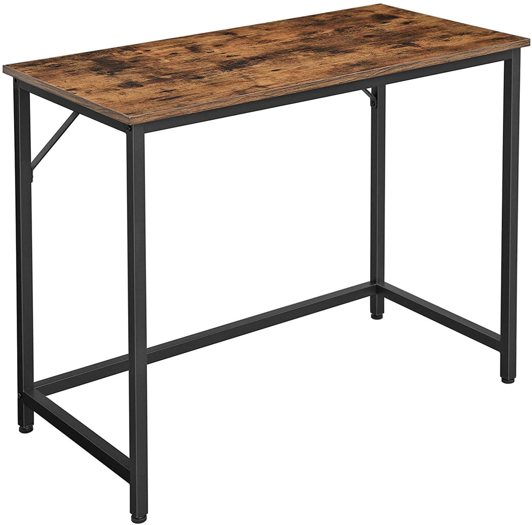 Wood & Iron Office Desk