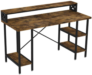 Wood & Iron Industrial Computer Desk