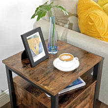 Load image into Gallery viewer, Wood & Iron End Table