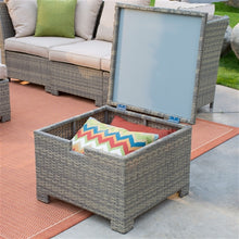 Load image into Gallery viewer, Outdoor Wicker Resin Patio Set