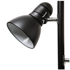 65-inch Black 3-Light Tree Lamp