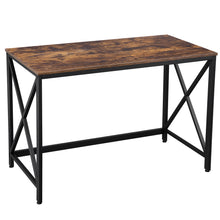 Load image into Gallery viewer, Wood & Iron Sturdy Writing Desk