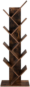 Wood & Iron Tree Bookshelf