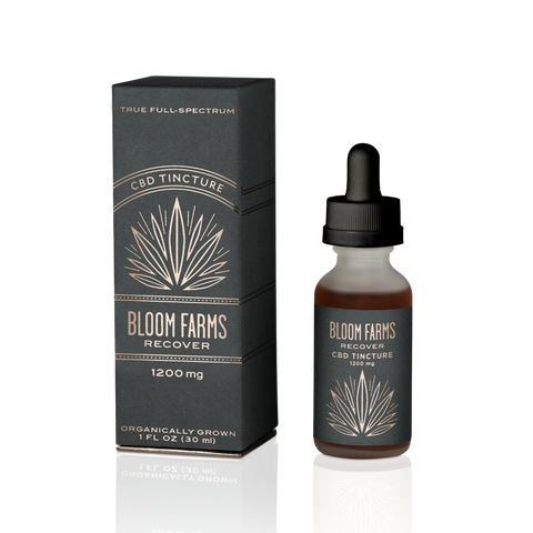 Bloom Farms | Recover CBD Tincture - 1200mg