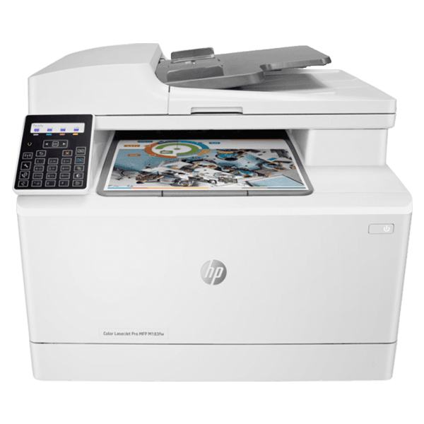 HP COLOR  LASERJET PRO MFP M183FW PRINTER  FAX/Print/copy/scan/Duplex/Wireless
