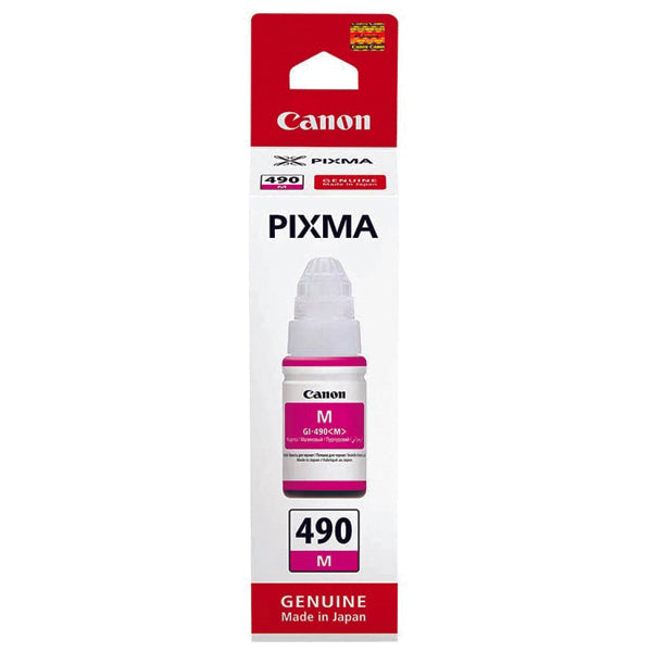 CANON PIXMA INK BOTTLE 490 MAGENTA